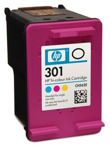 HP 301 Tri-color Ink Cartridge (CH562EE#BA3)