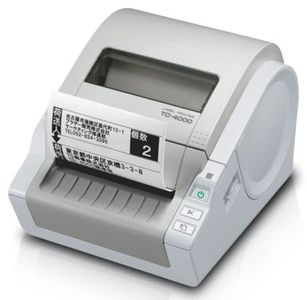 BROTHER P-TOUCH TD-4000 LABEL PRINTER (TD4000ZG1)