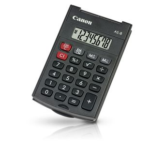 CANON AS-8 pocket calculator (4598B001)