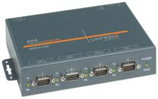 LANTRONIX DEVICE SERVER 4 PORT SER INT. POWER SUPPLY WITH REGIONA   IN CABL (ED41000P2-01)