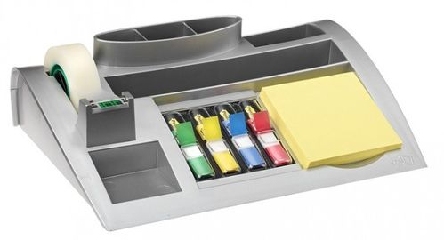 3M Post-it Desk Organiser Grijs (C50)