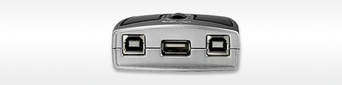 ATEN Switchbox 2 Bruger - 1 USB (ATEN US-221 Desctop Switch)