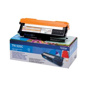 BROTHER Toner Brother  TN320C blå 1500 sider (TN320C)