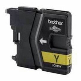 BROTHER MFC-J615W/ J125/ J315 Yellow Ink (LC985Y)