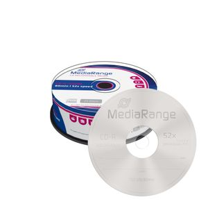MediaRange CD-R 700MB 25pcs Spindel 52x (MR201)