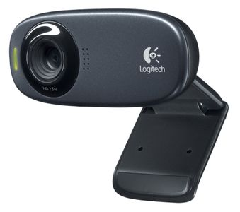 LOGITECH HD Webcam C310 Black (960-000638)