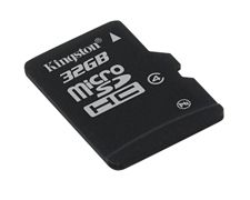 KINGSTON - Flashminnekort - 32 GB - Class 4 - microSDHC (SDC4/32GBSP)