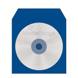 MediaRange CD/DVD Papierhüllen Color-Pack 100St (BOX67)