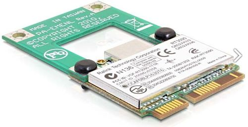 DELOCK Mini PCI-Express adapter, halv till full storlek (65228)