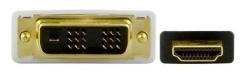 DELTACO HDMI ha - DVI-D Single Link ha, 2m (HDMI-112)
