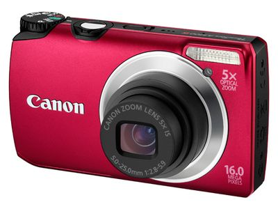 CANON POWERSHOT A3300 IS RED (5038B012)