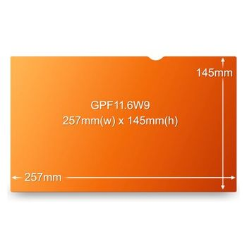 3M GPF11.6W9 GOLD NETBOOK FOR 11,6IN / 29,5 CM / 16:9 ACCS (98044055006)