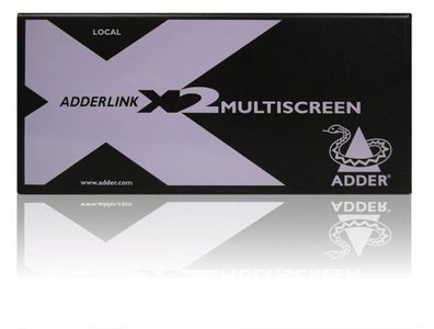 ADDER TECH X2 MultiScreen. Dual Head (X2-MS2-EURO)