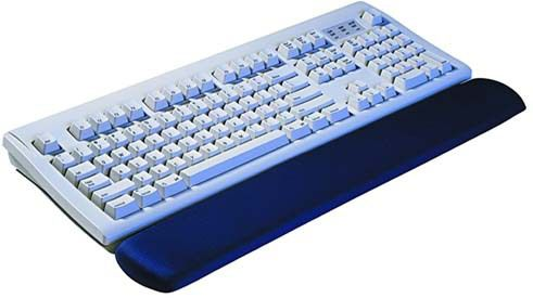 3M WR310MB GEL KEYBOARD WRIST REST 7,1 X 48,3 CM BLACK              IN ACCS (70-0710-8105-6)