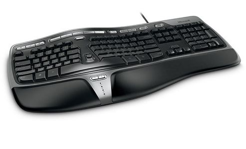 MICROSOFT Natural Ergonomic Keyboard 4000 for Business (schw (5QH-00002)