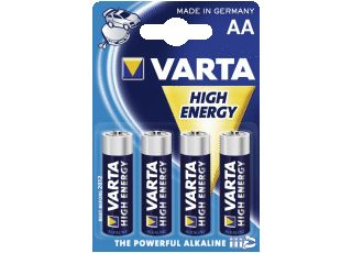 VARTA 1x4 High Energy Mignon New (04906 121 414)