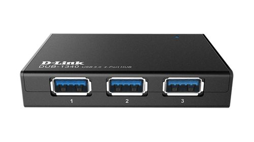 D-LINK 4-Port Superspeed USB 3.0 HUB (DUB-1340)
