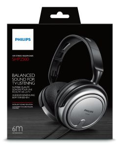 PHILIPS TV HEADPHONE FULLSIZE W/6M OFC-CABLE                   IN CONS (SHP2500/10)
