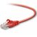 BELKIN CAT5e Sng/Shd Patch Cable RJ45M 1M Red