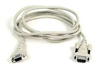 VGA extension cable 1,8 m beige