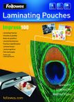 FELLOWES LAMINATING POUCH 100MIC A4 100PK
