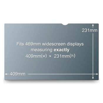 "3M Privacy Filter 18.5"" WideS (PF18.4W9)"