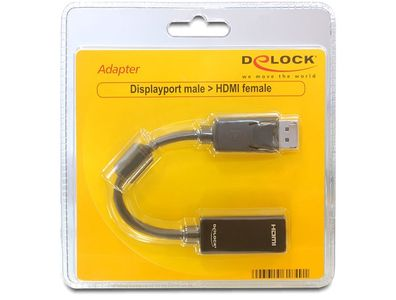 DELOCK Adapter Displayport male > HDMI female - Vi (61849)