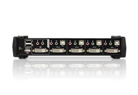 ATEN KVM switch  4pc-1bruker   CS1784A (CS1784A)