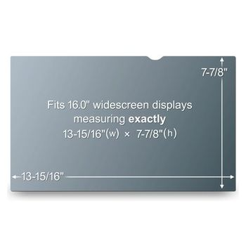 """3M Privacy Filter 16"""" WideS (PF16.0W9)"""