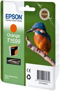 EPSON Orange Ink Cartridge (T1597 )  (C13T15994010)