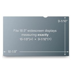 "3M Privacy Filter 18.5"" (PF18.5W9)"