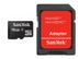 SANDISK SD CARD MICRO 16GB SDHC WITH ADAPTER MEM