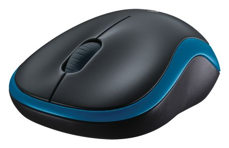 LOGITECH WIRELESS MOUSE M185 BLUE (910-002239)