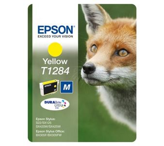 EPSON Ink Cart/T128 Yellow w/Tag (C13T12844021)