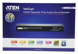 ATEN VanCryst VC880 HDMI Repeater Plus Audio De-embedder - Video/ lyd-forlenger - opp til 15 m (VC880-AT-G)