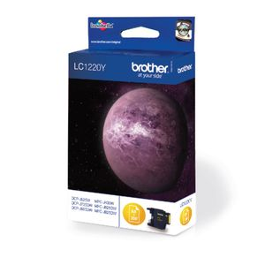 BROTHER LC1220Y ink cartridge yellow (LC1220Y)