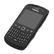 BLACKBERRY BB 9350/ 9360/ 9370 PREMIUM SKIN BLACK W/BLACK ACCENT