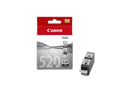 CANON PGI-520 ink cartridge black standard capacity 1-pack blister with alarm (2932B011)