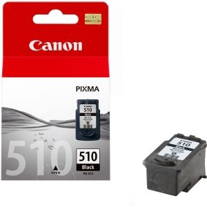 CANON PG-510 ink cartridge black standard capacity 1-pack blister without alarm (2970B008)
