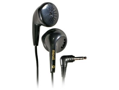 MAXELL STEREO COLOUR BUDS CB BLACK . ACCS (303483)