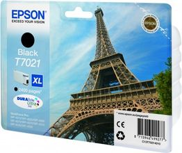 EPSON cartridge XL black for WP 4000/4500 2400 pages WP-4015DN WP-4025DW WP-4515DN WP-4525DNF WP-4535DWF WP-4545DTWF (C13T70214010)