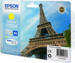 EPSON cartridge XL yellow for WP 4000/4500 2000 pages WP-4015DN WP-4025DW WP-4515DN WP-4525DNF WP-4535DWF WP-4545DTWF (C13T70244010)