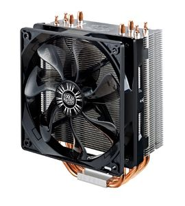 Cooler Master CPU Cooler Universal Tower 4 CDC heatpipes 120mm 600-1600RPM PWM fan Hyper 212 Evo (RR-212E-16PK-R1)