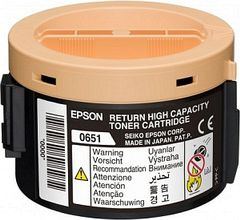 EPSON return cartridge black 2200 pages for M1400 (C13S050651)