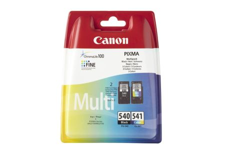 CANON PG-540/ CL-541 Mulit Pack Incl. BK/M/Y/C Cartridge (5225B006)