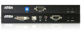 ATEN CE 602 Local and Remote Units - KVM / lyd / seriellutvider - USB - opp til 60 m (CE602-AT-G)