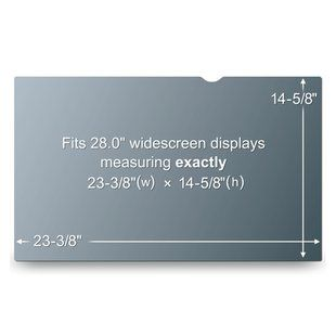 3M PF28.0W PRIV FLT FOR 28IN WIDE LCD DT DISP (PF28.0W)