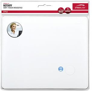 SPEEDLINK NOTARY Soft Touch Mousepad, white (SL-6243-LWT)