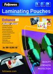 Laminating pouches Fellowes A4 80mic superquick(100pack)