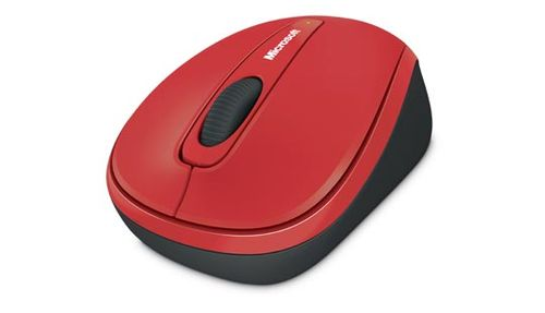 MICROSOFT MS Wireless Mobile Mouse 3500 red (GMF-00195)